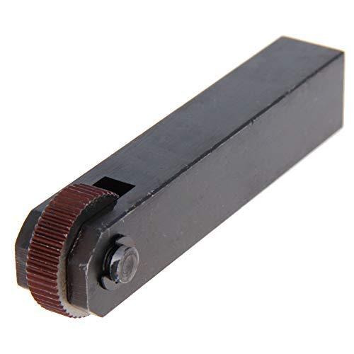 Herramienta de moleteado lineal de una rueda recta 1,6 mm Negro 1 pieza