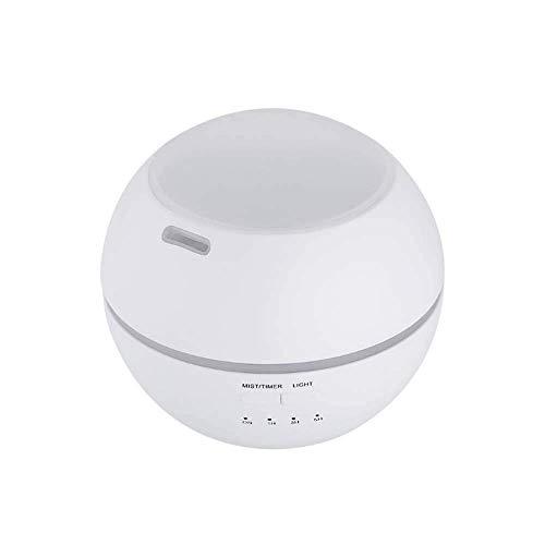 Homecare Atk Ultraschall-Luftbefeuchter Mit Kühlem Nebel, Desktop USB-Luftreiniger Mit Filter, 150Ml Mini Essential Oil Diffuser, Nachtlicht Und Automatische Abschaltfunktion,Weiß