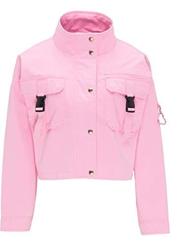 myMo Cropped Jacke Damen 12304823 rosa, XL