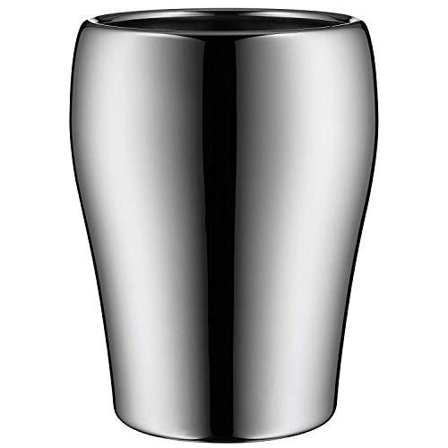 WMF Tavola Flaschenküher, ideal als Sekt oder Weinkühler, Cromargan Edelstahl poliert, H 22,4 cm, Ø 16,9 cm