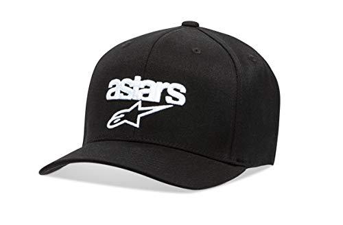 Alpinestars Heritage Blaze Hat Gorra de béisbol, Negro (Black/White 1020), Large (Talla del Fabricante: LXL) para Hombre