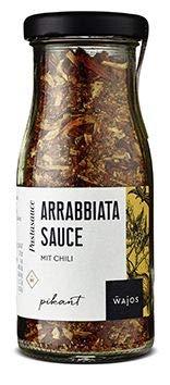 Arrabbiata Sauce 50g - Pastasauce mit Chili I Wajos Gourmet