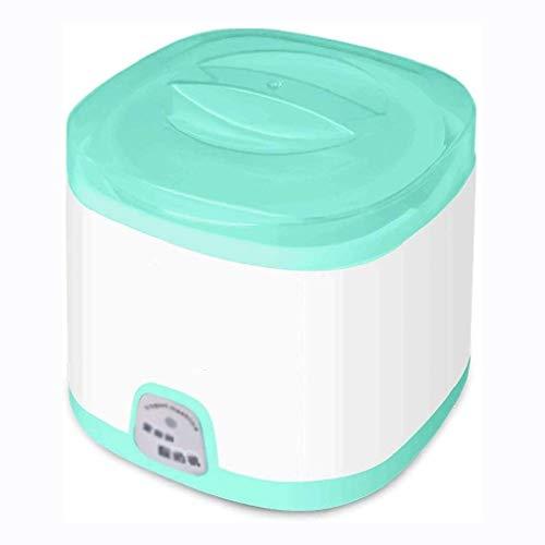 XJJZS Inicio Yogur Que Hace La Máquina -Pequeños Electrodomésticos, Yogur Máquina, De Acero Inoxidable Mini Hogar Temperatura Constante Yogur Máquina Completamente Automática