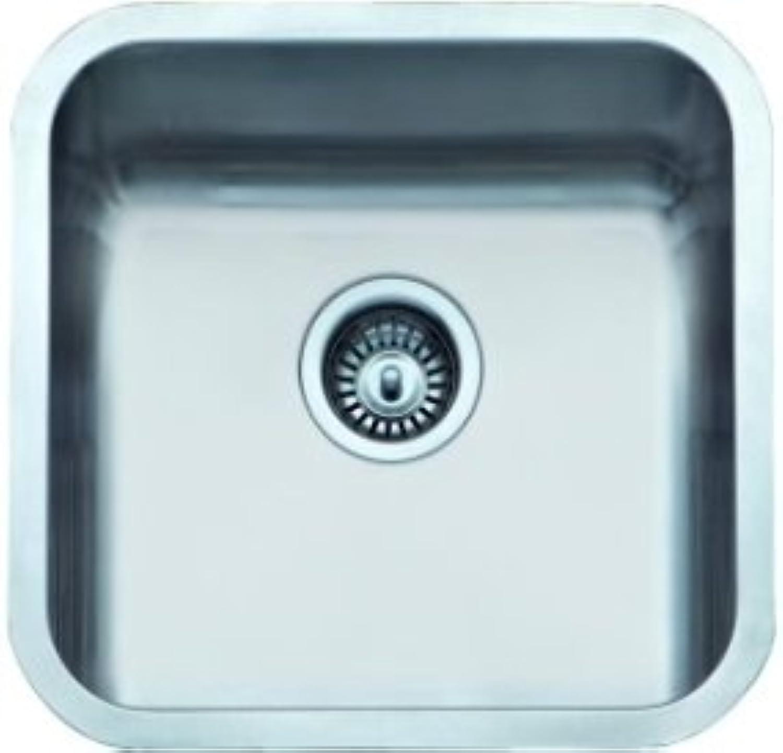 ALBA?O – (Basic Model) Sink 1 Square Basin, 45 x 45 cm