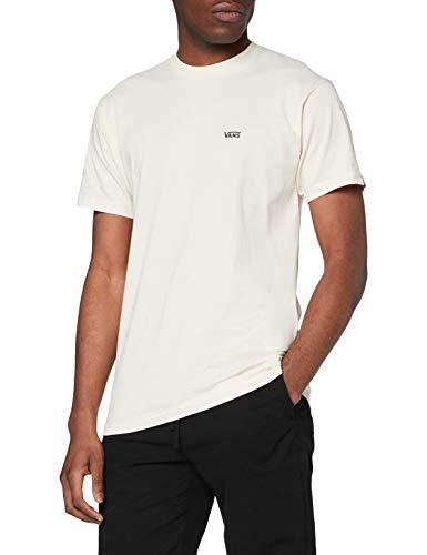 Vans Herren Left Chest Logo Tee T-Shirt, Seed Pearl-Black, XXL