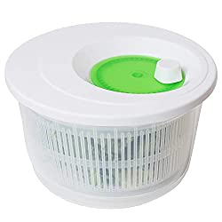 commercial K Basix Large Salad Spinner 4.5 l – Dryer for vegetables or salads, holders, french fries, shakers,… salad spinner tupperware