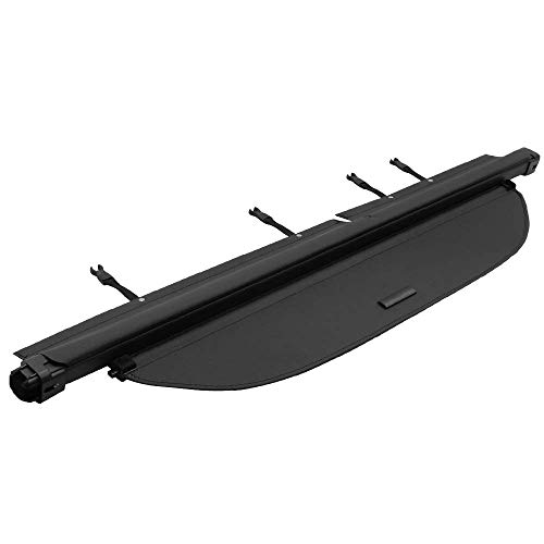 IKON MOTORSPORTS Cargo Cover Security Rear Trunk Cover Security Retractable Shield Compatible With Toyota Rav4 2013-2016