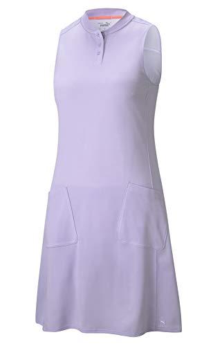PUMA Farley Dress Farley - Vestido para Mujer, Mujer, 599249, Lavanda Ligera, Extra-Large