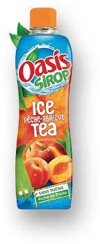 Sirup Oasis Eistee Pfirsich Aprikose