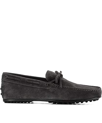 Tod's Luxury Fashion Herren XXM0LR00051RE0B408 Grau Mokassins | Jahreszeit Permanent