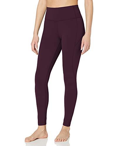 "Amazon Brand - Core 10 Women's Plus Size Nearly Naked Yoga High Waist Full-Length Legging-28"", Blackberry, 2X"