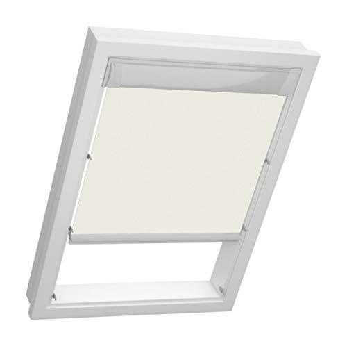 sun collection Dachfenster Thermo Rollos für Velux Fenster - Profilfarbe Weiß - Sonnenschutz GGU GPU 606/608