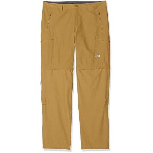 The North Face M Exploration Convertible, Pantaloni Uomo, British Khaki, 38