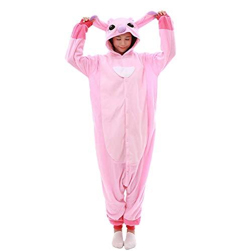 Erwachsene Adult Pyjama Cosplay Tier Onesie Nachtwäsche Kleid Overall Animal