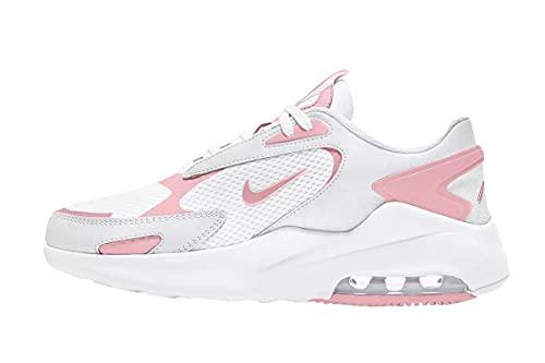 Nike Air Max Bolt, Scarpe da Corsa Donna, White/Pink Glaze-White, 38.5 EU