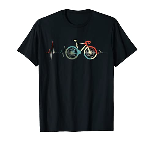Ciclismo Regalo Divertente Ciclista Vintage Bici Ciclista Maglietta