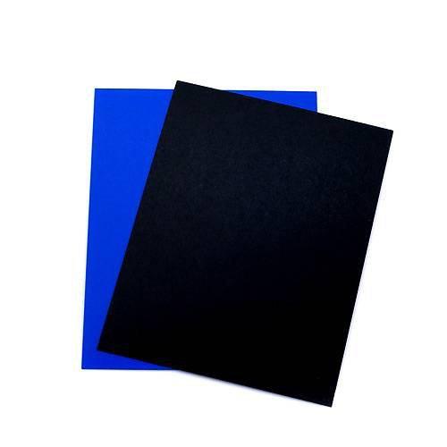 RG-20水槽用 丈夫な塩ビ製バックスクリーン 23.5×18cm 黒