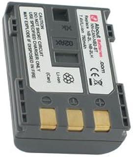 Batterie type CANON NB-2LH, 7.4V, 750mAh, Li-ion