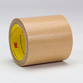 3M Adhesive Transfer Tape 9472 Clear, 12 in x 180 yd 5 mil, 1 roll per case