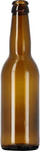 24 Bouteilles 33cL Long Neck pour embouteiller sa bière - Je Brasse ma bière