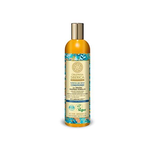 Natura Siberica Revitalisant pour Cheveux Oblepikha pour Cheveux Faibles/Abîmés 400 ml