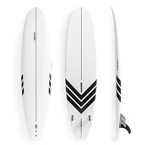 Hongzy - Tabla de Surf de pie Profesional para Principiantes Principiantes (2,4 m)