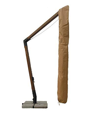 GIARDINI DEL RE Custodia per Ombrelloni Decentrati, Beige, 300x400x2 cm