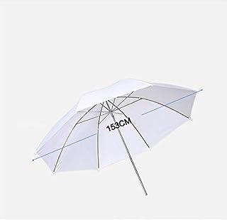 撮影用スタジオ反射傘 リフレクター拡散傘 アンブレラ 半透明ホワイト スピードライト用 傘 八角形 ソフトアンブレラ ソフト傘 SUT-φ60(153cm)