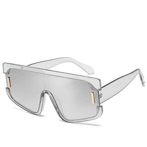ZZZXX Gafas De Sol Hombres Gafas De Sol Retro Midin Con Montura Grande Gafas De Piloto Con Estuche Y Paño De Limpieza, Para Ciclismo Pescar Y Conducir