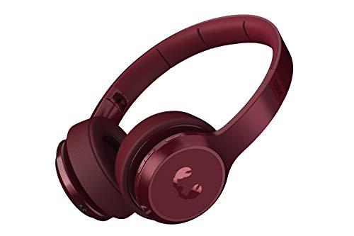 Fresh 'n Rebel Code ANC   On-Ear Bluetooth Kopfhörer mit Aktive Rauschunterdrückung – Ruby Red