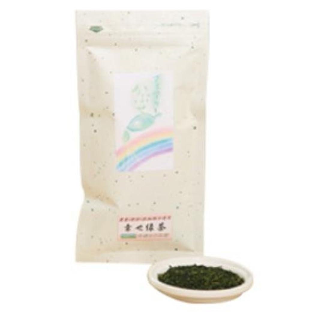 空白磨かれたヘッジかぶせ緑茶 80g
