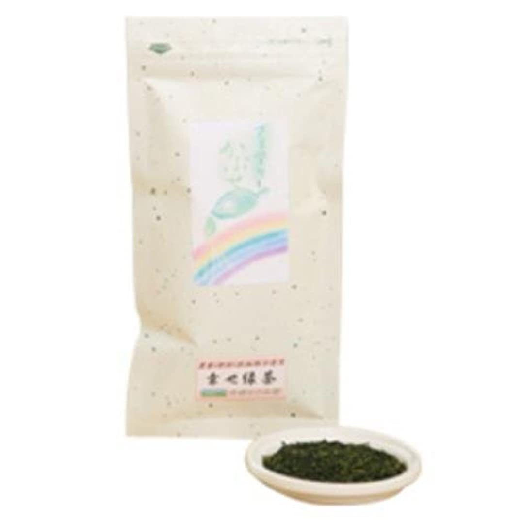 愛流実験かぶせ緑茶 80g