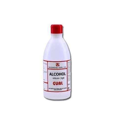 Alcohol etílico 70º para desinfección de utensilios - 100