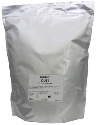 Royal Spice Magic Dust BBQ Rub Gewürzmischung 3kg XXXL Sparpack - Erster In Deutschland Hergestellter Magic Dust Rub Nach Dem Originalrezept Von Mike Mills