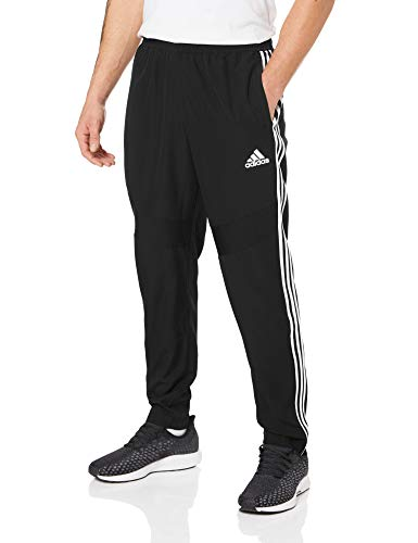 adidas Herren TIRO19 WOV PNT Sport Trousers, Black/White, M