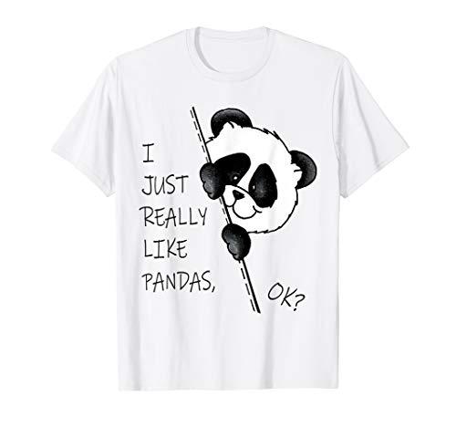 Panda Birthday Boys Girls Kids Teens Panda Bear Gift Women T-Shirt