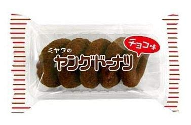 宮田製菓 ヤングドーナツ チョコ味 5個入り × 10個