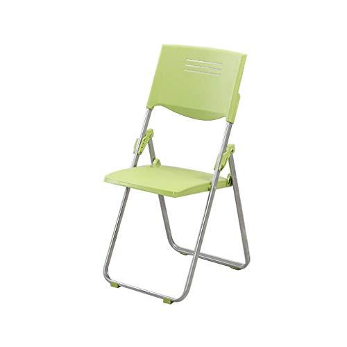 Klappstuhl Büro grüner Plastik aufgefüllter Personalschulungs-Sitzungs-Stuhl-Schreibtisch-Stuhl CAIZHEN