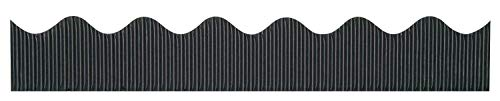 Pacon Bordette Decorative Border, Black, 2.25 in x 50 ft 037300