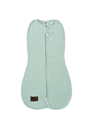 Sleepee Unisex Baby First Step Case Melange mintgroen slaapzak, groen (mint 6000), Neugeboren (fabrikantmaat: 3-6,5 kg)