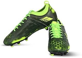 Vector X Flyer Football Shoes for Men's (Black-Green)