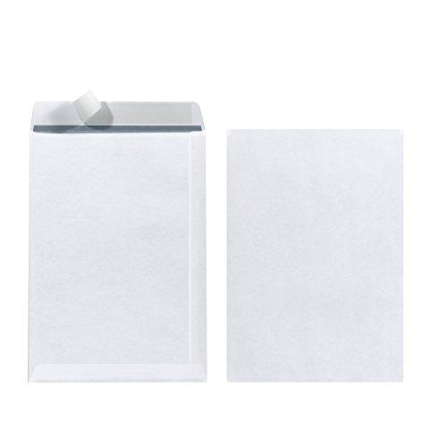 Herlitz Versandtasche C5 90 g Haftklebend, 10 Stück mit Innendruck in Folienpackung, eingeschweißt, weiß