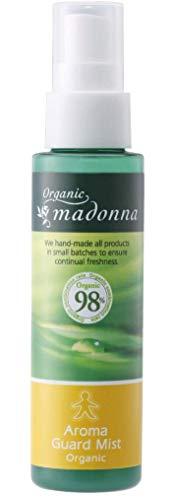 オーガニックマドンナアロマガードミスト80ml(オーガニック98%配合・虫よけアロマミスト)