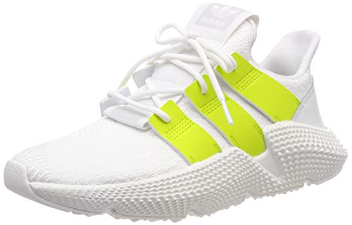 adidas Prophere W, Zapatillas de Gimnasia Mujer, Blanco (FTWR White/Semi Solar Yellow/Crystal White), 42 2/3 EU