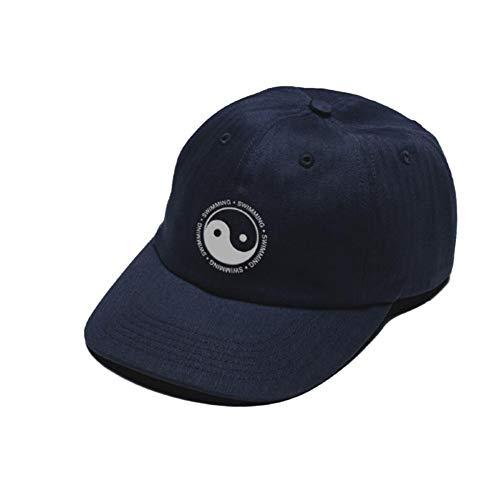 CXKNP Baseballmütze Baumwolle Papa Hut Schwimmen Yin Yang Klatsch Bestickt Hut Snapback Baseball Cap Männer Und Frauen