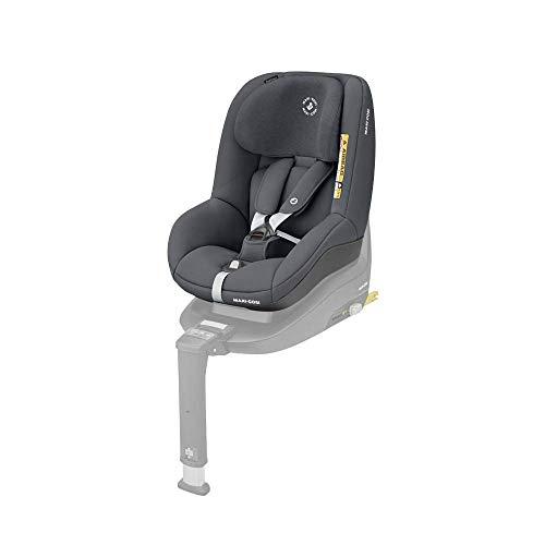 Maxi-Cosi Pearl Smart I-Size Silla coche bebé contramarcha y reclinable, se utiliza en combinación con la base isofix FamilyFix One i-Size, silla auto bebé 6 meses - 4 años, color authentic graphite