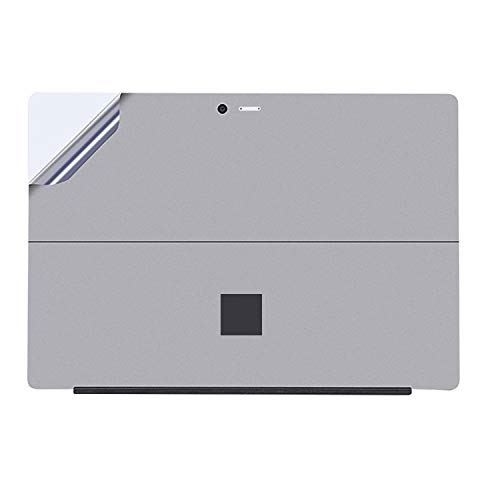 Tablet PC Shell Protective Back Film Sticker for Microsoft Surface Pro 4/5 / 6 (Black) luoshan (Color : Grey)