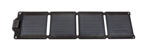 EnerPlex Kickr 4 6W Ultra-light Solar Charger for Smartphones and Electronics, Black, KR-0004-BK