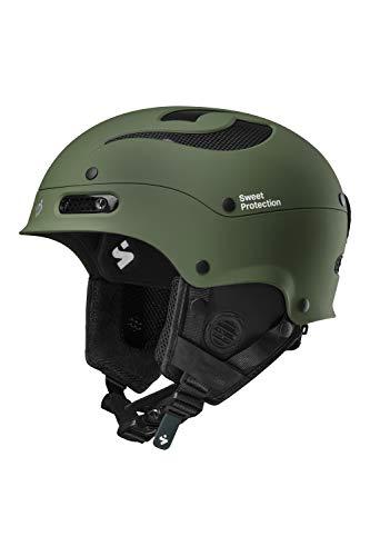 Sweet Protection Trooper II Casque de Ski/Snowboard Mixte Adulte Olive Drab LXL