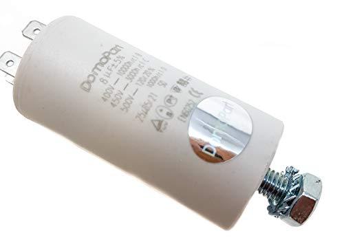 Condensador de arranque del motor 8 µF, 450V